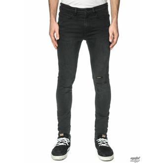 kalhoty pánské (jeans) GLOBE - G.04 Skinny - Beat Down Black - GB01736005-BTDWNBLK - POŠKOZENÉ - BH126