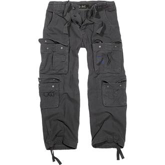 kalhoty pánské BRANDIT - Pure Vintage Trouser Black - 1003/2 - POŠKOZENÉ - BH133