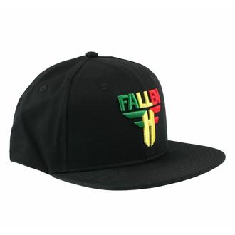 kšiltovka FALLEN - Insignia Flat - Black-Rasta, FALLEN