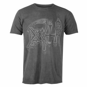 tričko pánské DEATH - SILVER LOGO - BLACK - PLASTIC HEAD - KU072