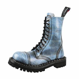 boty STEADY´S - 10 dírkové - Jeans - STE/10/106 JEANS