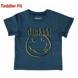 tričko dětské Nirvana - Inverse Smiley - ROCK OFF, ROCK OFF, Nirvana