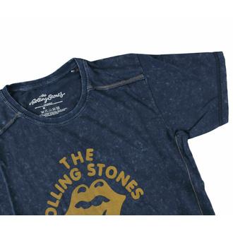 tričko pánské Rolling Stones - NYC '75 - Snow Wash - ROCK OFF, ROCK OFF, Rolling Stones