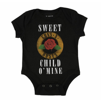 body dětské Guns N' Roses - Child O' Mine Rose - ROCK OFF, ROCK OFF, Guns N' Roses