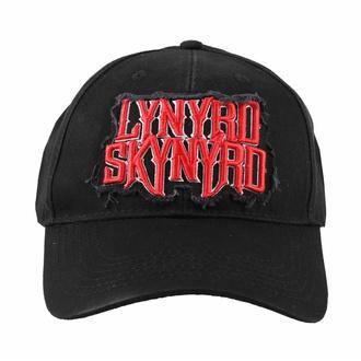 kšiltovka Lynyrd Skynyrd - Logo - ROCK OFF, ROCK OFF, Lynyrd Skynyrd