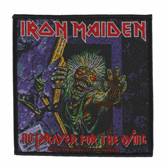 nášivka IRON MAIDEN - NO PRAYER FOR THE DYING - RAZAMATAZ, RAZAMATAZ, Iron Maiden