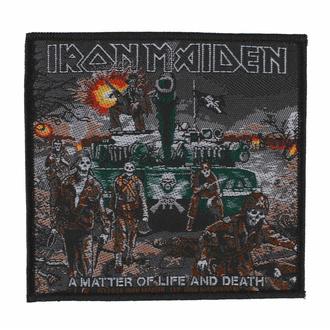 nášivka IRON MAIDEN - A MATTER OF LIFE AND DEATH - RAZAMATAZ, RAZAMATAZ, Iron Maiden