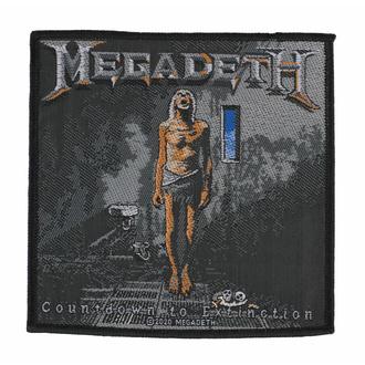 nášivka MEGADETH - COUNTDOWN TO EXTINCTION - RAZAMATAZ, RAZAMATAZ, Megadeth