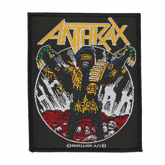 nášivka ANTHRAX - JUDGE DEATH - RAZAMATAZ, RAZAMATAZ, Anthrax