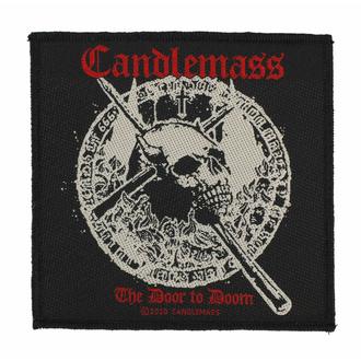 nášivka CANDLEMASS - THE DOOR TO DOOM - RAZAMATAZ, RAZAMATAZ, Candlemass