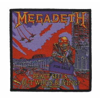 nášivka MEGADETH - PEACE SELLS - RAZAMATAZ, RAZAMATAZ, Megadeth