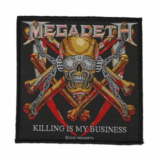 nášivka MEGADETH - KILLING IS MY BUSINESS - RAZAMATAZ, RAZAMATAZ, Megadeth