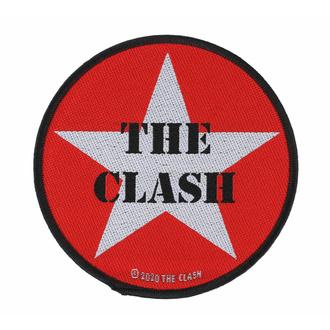 nášivka THE CLASH - MILITARY LOGO - RAZAMATAZ, RAZAMATAZ, Clash