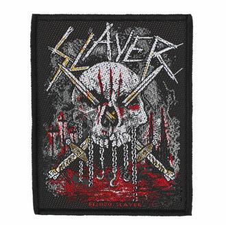 nášivka SLAYER - SKULL & SWORDS - RAZAMATAZ, RAZAMATAZ, Slayer