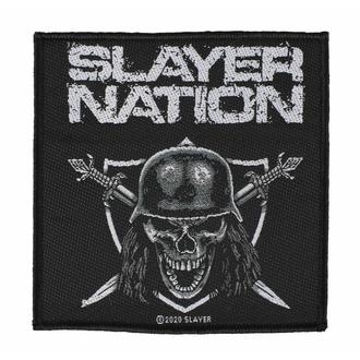nášivka SLAYER - SLAYER NATION - RAZAMATAZ, RAZAMATAZ, Slayer