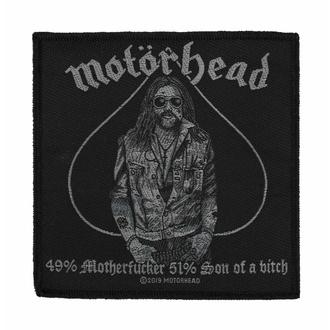 nášivka Motörhead - 49% MOTHERFUCKER - RAZAMATAZ, RAZAMATAZ, Motörhead