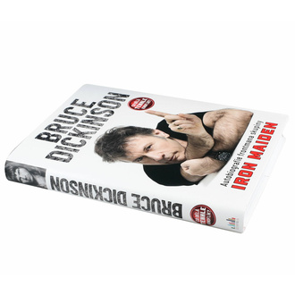 kniha IRON MAIDEN - Co dělá tenhle knoflík? - Autobiografie Dickinson Bruce, NNM, Iron Maiden