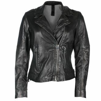 bunda dámská (křivák) G2G Wona - SF LAMEV - Glossy Black, NNM