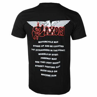 tričko pánské SAXON - WHEELS OF STEEL - RAZAMATAZ - ST2434