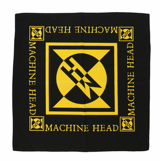 šátek MACHINE HEAD - DIAMOND LOGO - RAZAMATAZ, RAZAMATAZ, Machine Head
