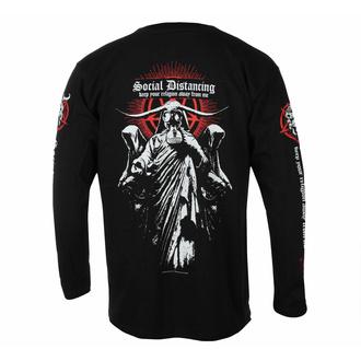 tričko pánské s dlouhým rukávem DARK FUNERAL – SOCIAL DISTANCING - RAZAMATAZ - CL2446