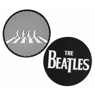 podložka na gramofon (set 2ks) THE BEATLES - ABBEY ROAD SILHOUETTE - RAZAMATAZ, RAZAMATAZ, Beatles