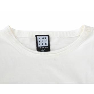 tričko pánské RAMONES - VINTAGE SHIELD - VINTAGE WHITE - AMPLIFIED, AMPLIFIED, Ramones