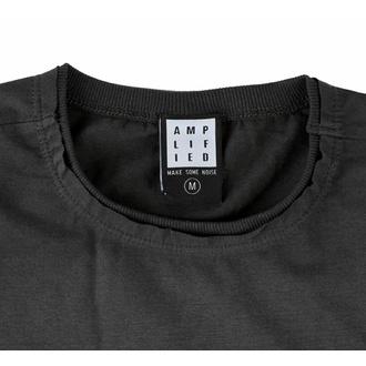 tričko pánské NIRVANA - FOUR SQUARE SMILEY - CHARCOAL - AMPLIFIED, AMPLIFIED, Nirvana