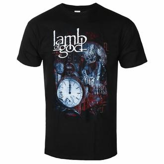 tričko pánské Lamb Of God - Circuitry Skull Recolor - Black - ROCK OFF, ROCK OFF, Lamb of God