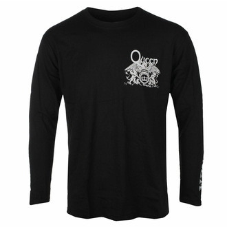 tričko pánské s dlouhým rukávem Queen - Extravaganza - Black - ROCK OFF, ROCK OFF, Queen