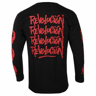 tričko pánské s dlouhým rukávem Che Guevara - Revolution - Black - ROCK OFF, ROCK OFF, Che Guevara