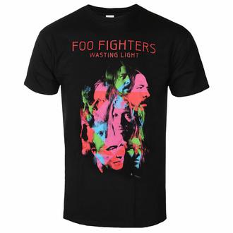 tričko pánské Foo Fighters - Wasting Light - Black - ROCK OFF, ROCK OFF, Foo Fighters