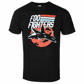 tričko pánské Foo Fighters - Jets - Black - ROCK OFF - FOOTS22MB