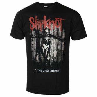 tričko pánské Slipknot - The Gray - Chapter Album - Black - ROCK OFF, ROCK OFF, Slipknot
