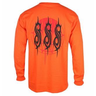 tričko pánské s dlouhým rukávem Slipknot - Winged Devil - ORANGE - ROCK OFF, ROCK OFF, Slipknot