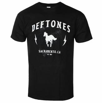 tričko pánské Deftones - Electric Pony - Black - ROCK OFF, ROCK OFF, Deftones