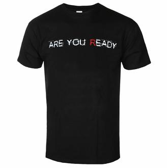 tričko pánské Disturbed - Are You Ready - Black - ROCK OFF, ROCK OFF, Disturbed