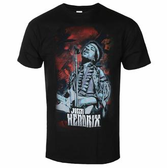 tričko pánské Jimi Hendrix - Universe - Black - ROCK OFF, ROCK OFF, Jimi Hendrix