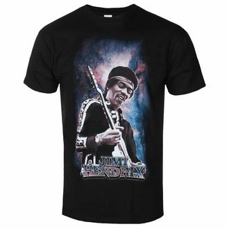 tričko pánské Jimi Hendrix - Galaxy - Black - ROCK OFF, ROCK OFF, Jimi Hendrix