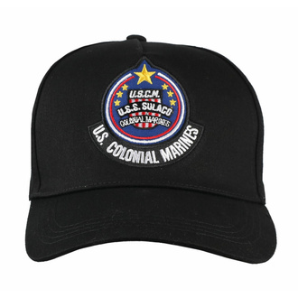 kšiltovka Alien - Curved Bill Cap USS Solaco Badge, NNM, Alien