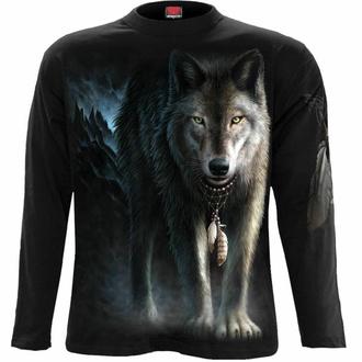 tričko pánské s dlouhým rukávem SPIRAL - FROM DARKNESS - Black, SPIRAL
