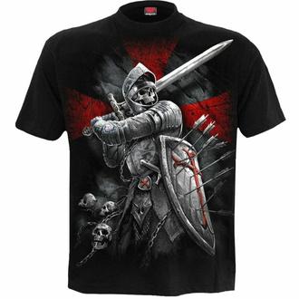 tričko pánské SPIRAL - VALIANT - Black, SPIRAL