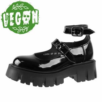 boty dámské ALTERCORE - Constance Vegan Black Patent, ALTERCORE
