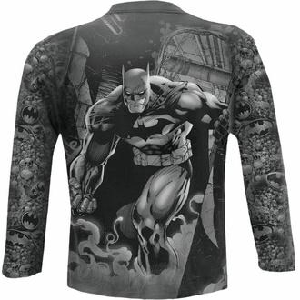 tričko pánské s dlouhým rukávem SPIRAL - Batman - VENGEANCE WRAP - Black, SPIRAL, Batman