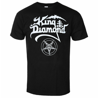 tričko pánské King Diamond - White Logo, NNM, King Diamond