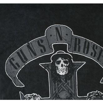 tričko pánské Guns N' Roses - Monochrome Cross - BL Dip-Dye - ROCK OFF, ROCK OFF, Guns N' Roses