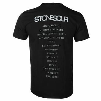 tričko pánské Stone Sour - Audio Secrecy Square BL - ROCK OFF, ROCK OFF, Stone Sour
