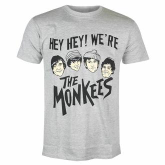 tričko pánské Monkees - Hey Hey! - GREY - ROCK OFF, ROCK OFF, Monkees