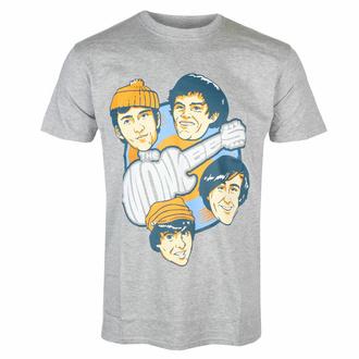 tričko pánské Monkees - Vinyl Heads - GREY - ROCK OFF, ROCK OFF, Monkees