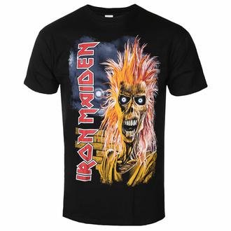 tričko pánské  Iron Maiden - First Album Tracklist V3 BL - ROCK OFF, ROCK OFF, Iron Maiden
